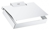 Grohe Selection Cube - WC-Papierhalter Metall mit Deckel chrom