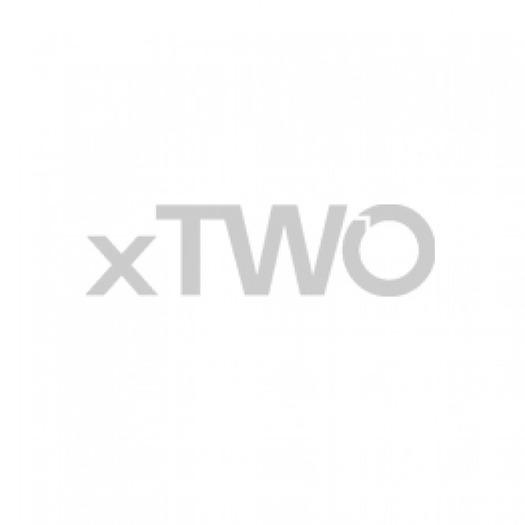 Hansgrohe Axor Citterio E - 3-Loch Waschtischarmatur mit Zugstangen-Ablaufgarnitur und Platte chrom