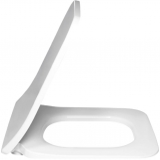 Villeroy & Boch Venticello - WC-Sitz Slimseat weiß alpin Bild 1