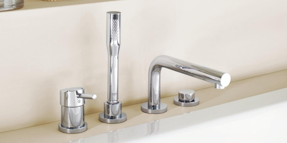 Grohe Concetto Wannenarmatur Standmontage