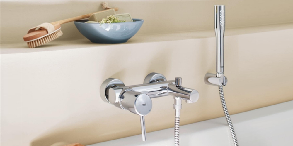 Grohe Concetto Wannenarmatur Wandmontage